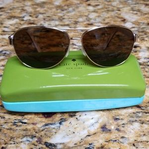 Kate spade dalia 2 polarized aviator sunglasses